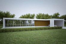 Modern design, elevation