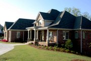European Style House Plan - 3 Beds 3.5 Baths 4671 Sq/Ft Plan #437-51 Exterior - Other Elevation