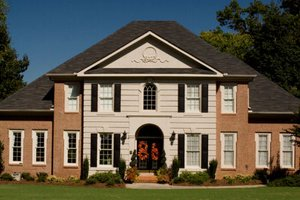 House Design - Colonial Exterior - Front Elevation Plan #119-320