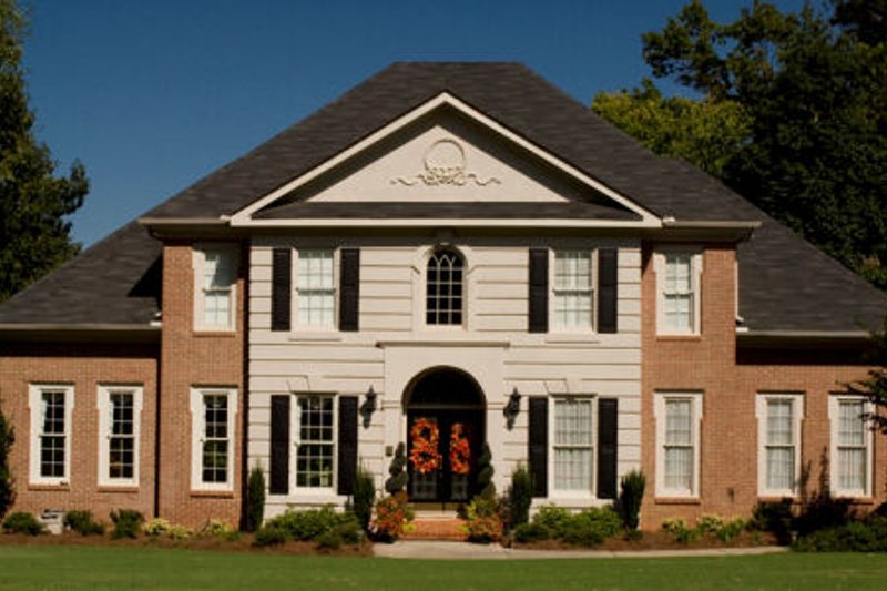 Colonial Exterior - Front Elevation Plan #119-320