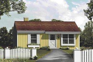 Farmhouse Exterior - Front Elevation Plan #57-410