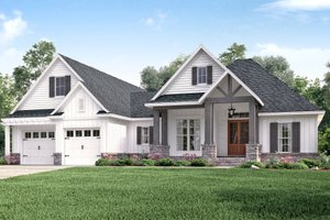 Craftsman Exterior - Front Elevation Plan #430-157