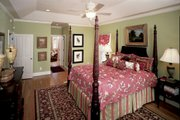 Country Style House Plan - 4 Beds 3.5 Baths 3167 Sq/Ft Plan #929-12 Interior - Master Bedroom