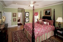 Dream House Plan - Country Interior - Master Bedroom Plan #929-12