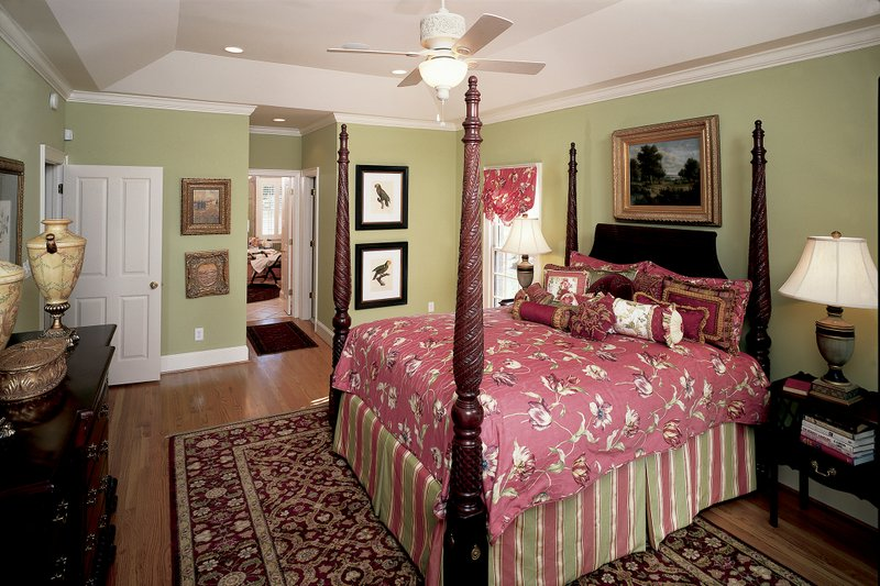 Country Interior - Master Bedroom Plan #929-12 - Houseplans.com