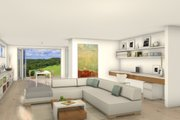 Modern Style House Plan - 3 Beds 2.5 Baths 2705 Sq/Ft Plan #497-26 Interior - Other