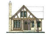 Tudor Style House Plan - 3 Beds 2 Baths 2098 Sq/Ft Plan #900-8 Photo