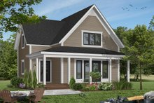 House Plan Design - Country Exterior - Front Elevation Plan #23-228