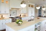 European Style House Plan - 4 Beds 3.5 Baths 5977 Sq/Ft Plan #928-8 Interior - Kitchen