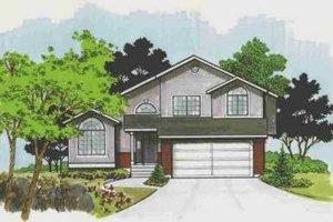 Modern Exterior - Front Elevation Plan #308-132