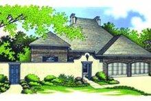 Dream House Plan - European Exterior - Front Elevation Plan #45-192