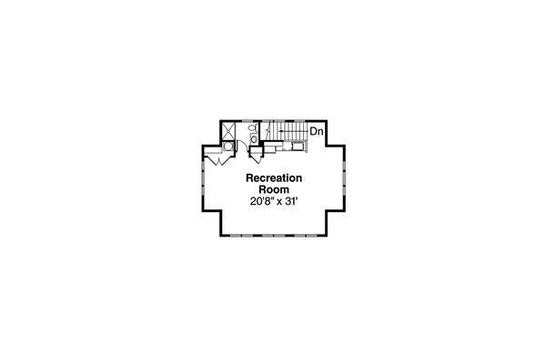 Traditional Floor Plan - Other Floor Plan Plan #124-977