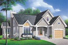 Home Plan - Traditional Exterior - Front Elevation Plan #23-134
