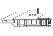 Home Plan - Ranch Exterior - Rear Elevation Plan #124-522