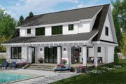 Farmhouse Style House Plan - 4 Beds 3 Baths 2652 Sq/Ft Plan #51-1148