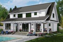 Home Plan - Farmhouse Exterior - Rear Elevation Plan #51-1148