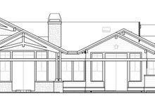 Architectural House Design - Craftsman Exterior - Rear Elevation Plan #895-123