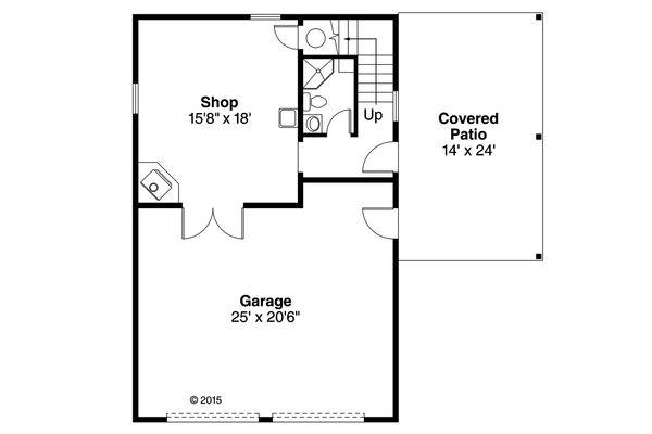 Traditional Floor Plan - Main Floor Plan #124-986