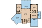 European Style House Plan - 3 Beds 3.5 Baths 4275 Sq/Ft Plan #923-85 Floor Plan - Lower Floor Plan