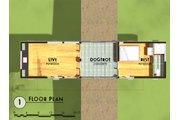 Modern Style House Plan - 1 Beds 1 Baths 432 Sq/Ft Plan #450-3 Floor Plan - Main Floor Plan