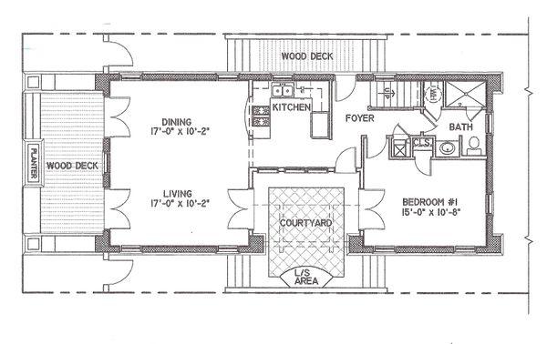 Mediterranean Floor Plan - Main Floor Plan #536-6
