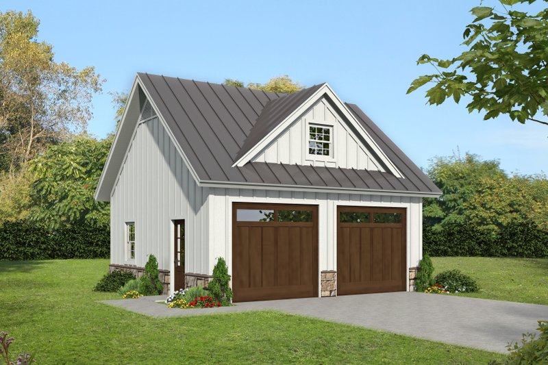 House Plan Design - Country Exterior - Front Elevation Plan #932-391