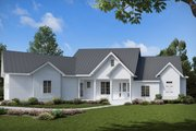 Farmhouse Style House Plan - 3 Beds 2 Baths 2510 Sq/Ft Plan #54-383 Exterior - Front Elevation