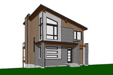 Contemporary Exterior - Front Elevation Plan #23-2660