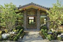 House Design - Ranch Exterior - Front Elevation Plan #48-433