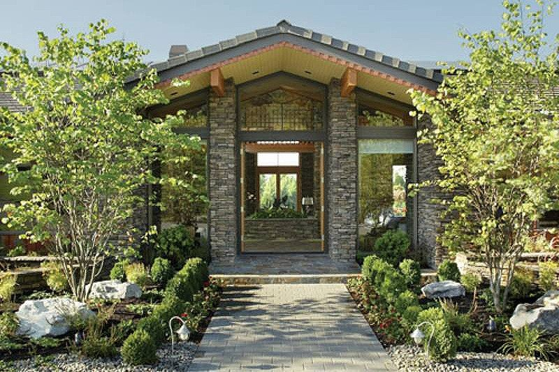 Ranch Exterior - Front Elevation Plan #48-433 - Houseplans.com