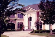 Classical Style House Plan - 4 Beds 3.5 Baths 3338 Sq/Ft Plan #119-111 Exterior - Other Elevation