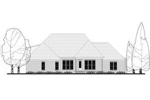 Craftsman Exterior - Rear Elevation Plan #430-155