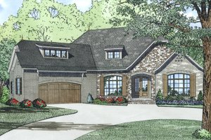European Exterior - Other Elevation Plan #17-2522