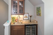 Dream House Plan - Optional Bonus Room Wet Bar