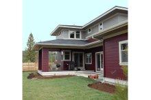 Prairie Exterior - Rear Elevation Plan #434-2