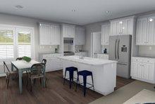 Ranch Interior - Kitchen Plan #1060-39