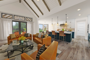 Farmhouse Style House Plan - 3 Beds 2.5 Baths 2523 Sq/Ft Plan #48-984 Interior - Kitchen