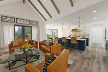 Farmhouse Interior - Kitchen Plan #48-984