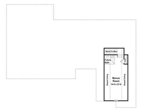 House Plan Design - Traditional Floor Plan - Other Floor Plan #21-220