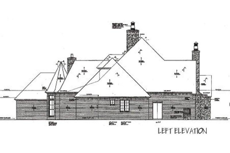 European Exterior - Other Elevation Plan #310-666 - Houseplans.com