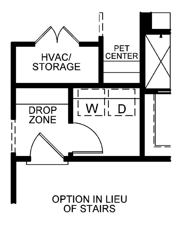 Farmhouse Floor Plan - Other Floor Plan Plan #20-2354