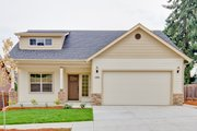 Craftsman Style House Plan - 3 Beds 2.5 Baths 1763 Sq/Ft Plan #124-907 Exterior - Front Elevation