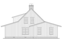 Country Exterior - Rear Elevation Plan #137-375