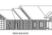 Ranch Exterior - Other Elevation Plan #117-563