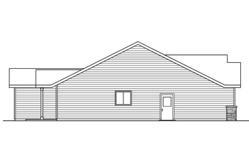 Craftsman Exterior - Other Elevation Plan #124-693 - Houseplans.com