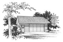 Traditional Exterior - Front Elevation Plan #22-414