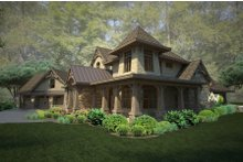 Craftsman Exterior - Other Elevation Plan #120-178