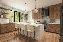 Architectural House Design - Farmhouse Interior - Kitchen Plan #23-2723