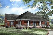 Traditional Style House Plan - 3 Beds 2.5 Baths 2607 Sq/Ft Plan #17-168 Exterior - Front Elevation