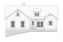 Architectural House Design - Farmhouse Exterior - Front Elevation Plan #437-97